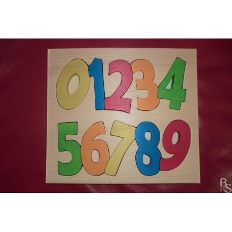 """Puzzle """"Méli-mélo de chiffres"""""""