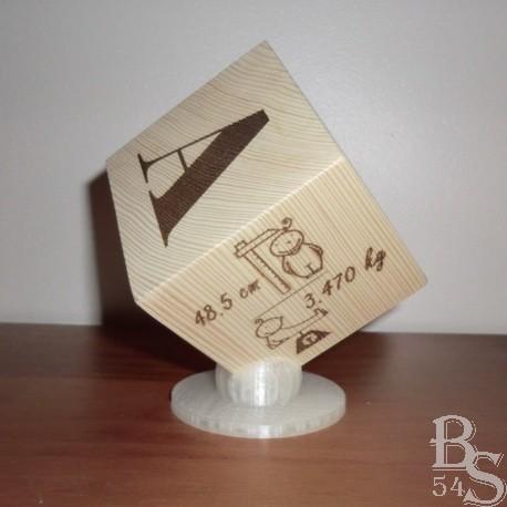 Cube naissance