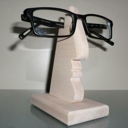 Visage porte-lunettes