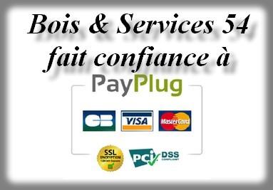 Bois & Services54 fait confiance à PayPlug